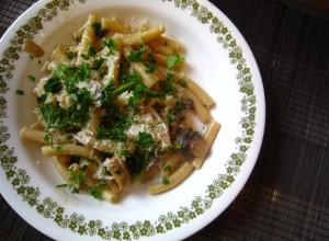 Chicken Marsala Pasta