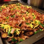 Mic Mac Tavern Loaded Potato Skins