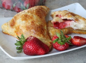 Strawberry Cheesecake Turnovers
