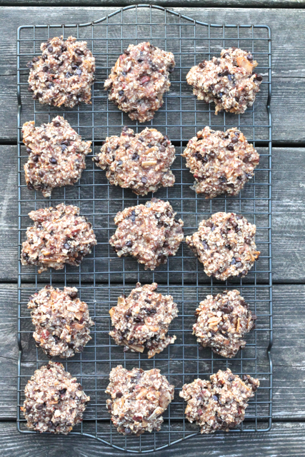 Healthy Banana Chocolate Chip Breakfast Cookies | thedomesticblonde.com