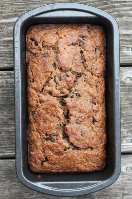 Brown Butter Banana Bread | thedomesticblonde.com
