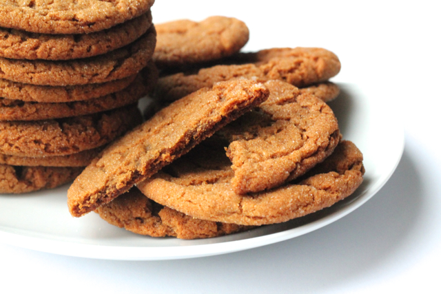 The Best Ginger Cookies | thedomesticblonde.com