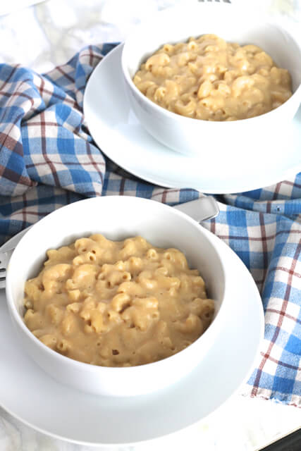 The Best Vegan Mac & Cheese | thedomesticblonde.com