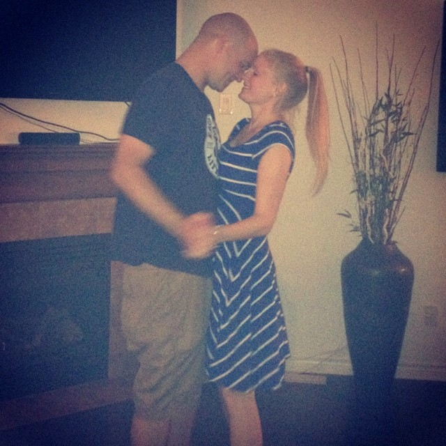 Little slow dance last night #latergram @jasondhanrahan