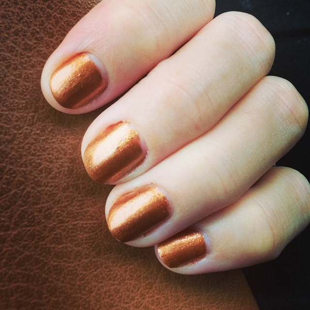 @opi_products sonata in bronze #staypolished