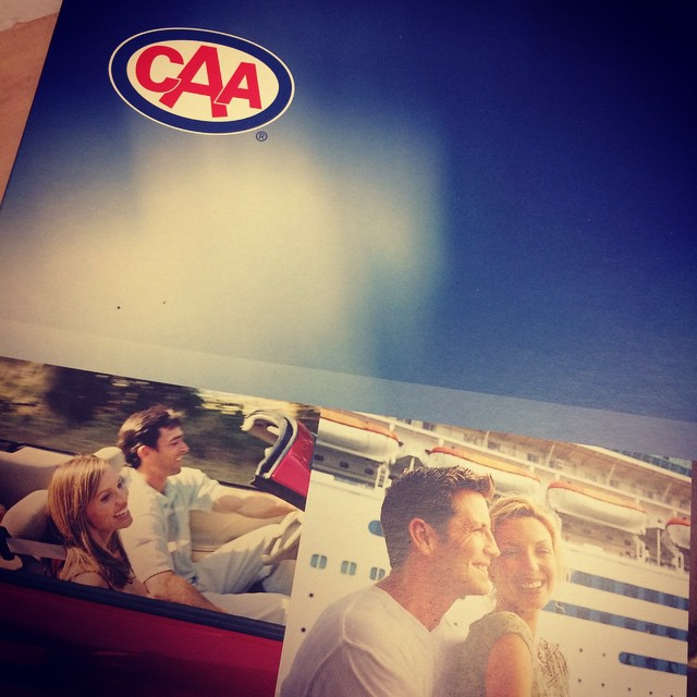 First day at the new job! @CAA