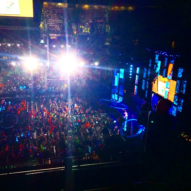 Rise and shine #Ottawa, it's #WeDay! @WeDay